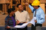 On-Site Meeting During Construction