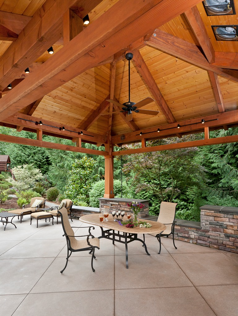 Detached Covered Patio - Tenhulzen Residential on Detached Patio Ideas id=38003