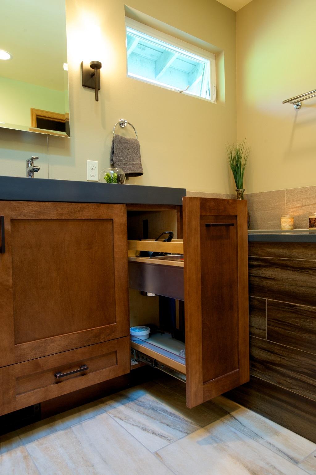 Tenhulzen Residential Wood Stone Master Bath Tenhulzen