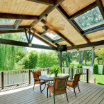 Roofed Deck