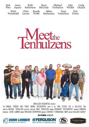 """2016: """"Meet The Tenhulzens"""""""