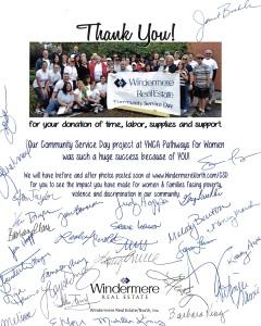 Windermere-donation